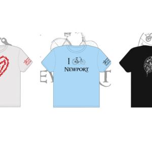 Bike Newport tshirts