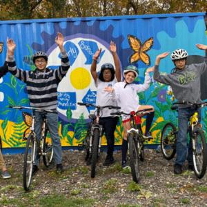 Bike barn kids