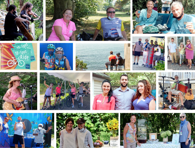 montage of event photos